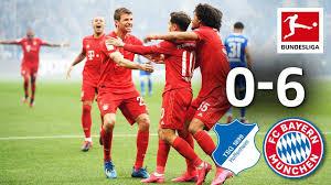 TSG Hoffenheim vs. FC Bayern München I 0-6 I Coutinho Brace in ...