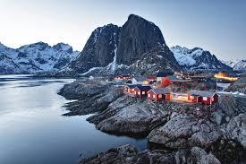 wallpaper norway lofoten islands