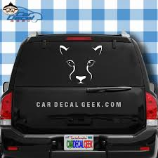 Panther Mountain Lion Cougar Car Window Decal Wildlife Stickers