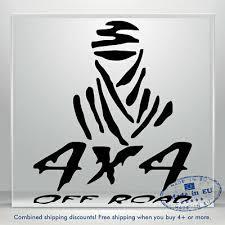 Off Road Vinyl Decal Sticker 4x4 Masked Ninja Truck Auto Car Bumper Window Decal Ebay