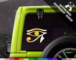 Eye Of Horus Decal Etsy