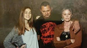 Madison Lintz, Melissa McBride, & Adam Minarovich (Sophia, Carol ...