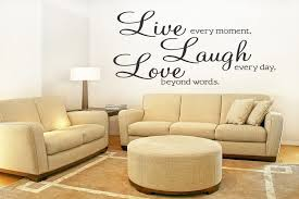 Vinyl Wall Decal Live Laugh Love Quote Walldecalquote