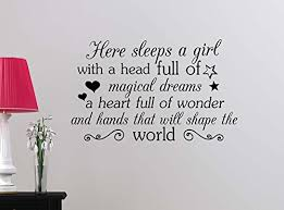 Product Reviews We Analyzed 1 701 Reviews To Find The Best Wall Decals Quotes For Girls