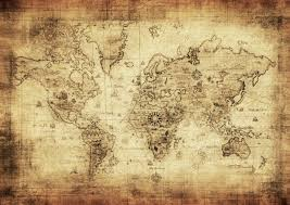 royalty free old world map photos