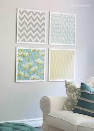 gallery of diy fabric wall art panels