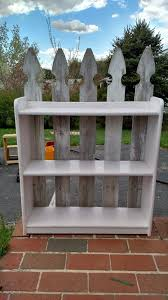 Easy Picket Fence Accent Shelves Picket Fence Cottage Furniture Shelves