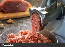 meat close electric meat grinder