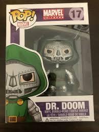 Collectibles Funko Funko Pop Marvel Universe Dr Doom 17 Vinyl Bobble Head Figure Clarioninvestgh Com
