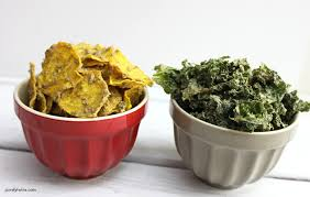 dairy free cheezy beet and kale chip