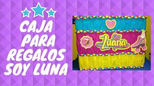 Diy Caja Para Regalos De Soy Luna Box For Birthday Gifts Soy Luna
