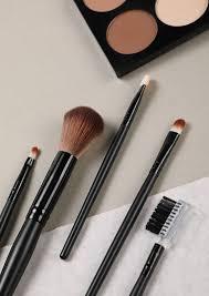 beautiful black makeup brushes set