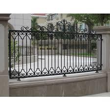 Modern Elegant Design Luxury Wrought Iron Garden Fence Panels Buy Modern Fence Garden Fence Panels Iron Garden In 2020 Fence Design Modern Fence Wrought Iron Fences
