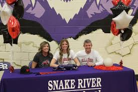 Snake River's Abby Morgan signs letter of intent to play volleyball at  Montana Western | Preps | idahostatejournal.com