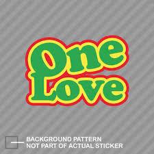 Rasta Grenade Rastafari One Love Bob Marley 8 Snow Custom Vinyl Decal Sticker