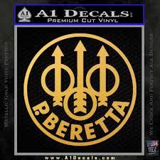 Beretta Retro Cr Decal Sticker A1 Decals