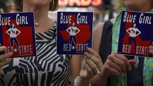 Idaho Blue Girl Red State Stickers New Political Meanings Idaho Statesman