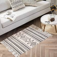ailsan moroccan cotton area rug 2 x3