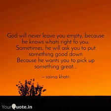 god will never leave you quotes writings by secret lover