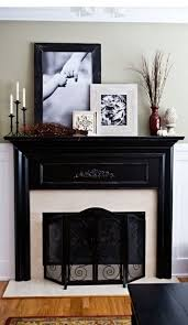 inexpensive ways to decorate the mantle