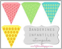 Banderines Infantiles Para Fiestas La Fabrica De Los Peques