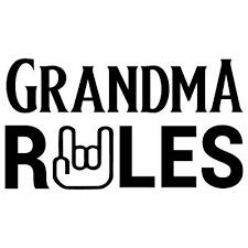 6 5 Grandad Rules Vinyl Decal Sticker Car Window Laptop Grandpa Grandma Family 2 89 Picclick Uk
