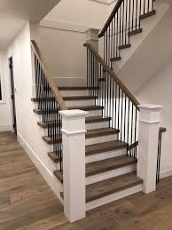 75 Beautiful Transitional Staircase Pictures Ideas November 2020 Houzz