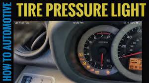 tire pressure light on a toyota rav4