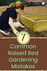 common mistakes in raised bed gardening