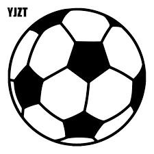 Yjzt 16x16cm Soccer Ball Creative Bumper Decoration Decal Cartoon Car Window Sticker C25 0390 Car Stickers Aliexpress