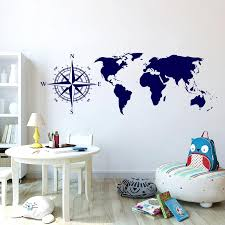 Five Colors Optional Wall Stickers World Map Wall Decals For Living Room Office Decoration Pvc Mural Removable Cheap Wall Clings Cheap Wall Decal From Jy9146 3 68 Dhgate Com