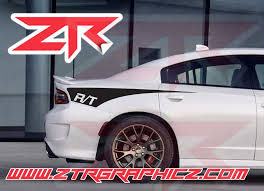 2015 2020 Dodge Charger Rt Custom Quarter Panel Body Decals R T Ztr Graphicz