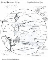 hatteras lighthouse pattern with