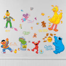 Sesame Street Wall Decals Party City
