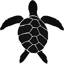Hawaiian Hawaii Sea Turtle Style 3 Decal