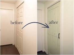 diy bifold barn door transform a