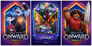 Disney Pixar's Onward Character Posters and New Official Trailer ...