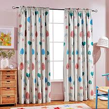 Melodieux Cartoon Trees Room Darkening Rod Pocket Curtains Drapes For Kids Room For Sale Online Ebay