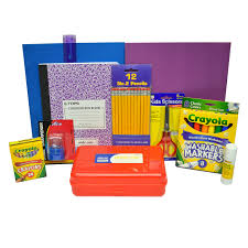 Standard Kindergarten School Supply Kit (003-SSKKIN) | Backpack ...