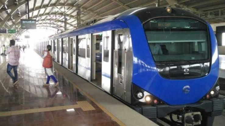 "Image result for chennai metro rail"""