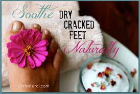 dry ed feet can be soothed