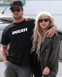 Lady Gaga con il fidanzato Taylor Kinney