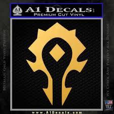 World Of Warcraft Horde Decal Sticker A1 Decals