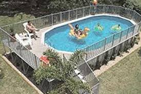Above Ground Pools With Decks And Fences Central Jersey Pools