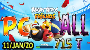Angry Birds Friends 2020 Tournament T715 On Now!