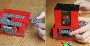how to make lego candy dispenser diy