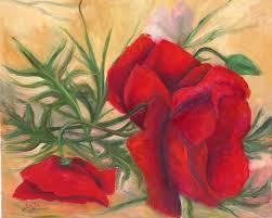 פרחים מצויירים