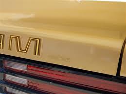 1975 1978 Trans Am Pontiac Rear Spoiler Decal