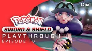 Pokemon Sword and Shield Playthrough Part 10 - Gym Leader Opal ...