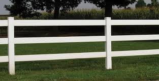 Vinyl Post And Rail Fence Fairway Architectural Solutions